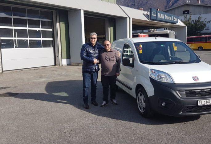 Consegna Fiat Fiorino
