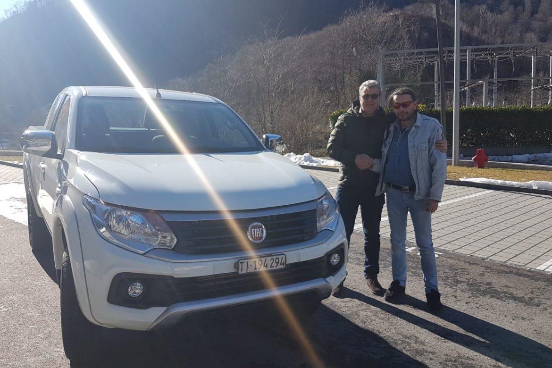 Consegna Fiat Fullback