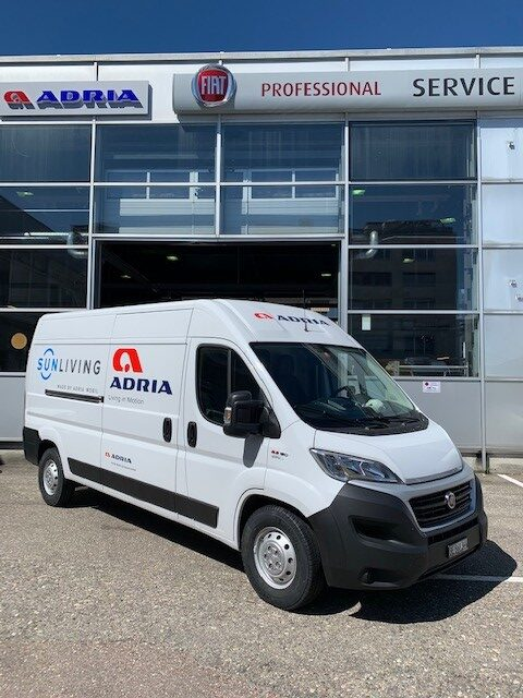 Ablieferung Fiat Ducato