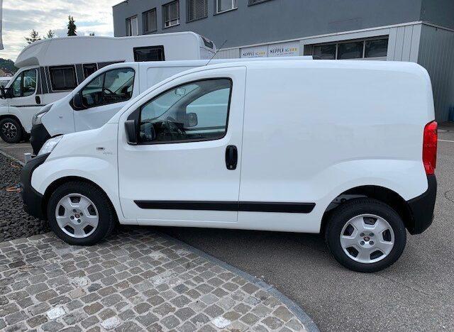 Ablieferung Fiat Fiorino 1.4