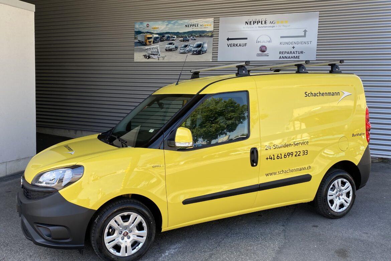 Ablieferung Fiat Doblo