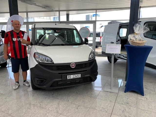 Ablieferung Fiat Doblo Cargo Base 1.4
