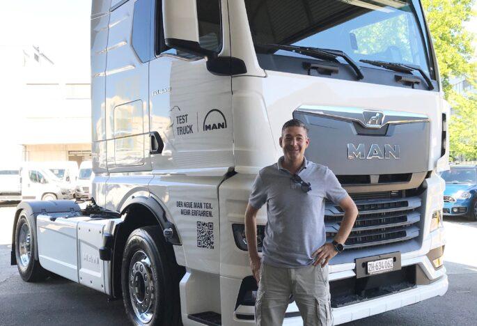 Interview aus dem Fahrerhaus des neuen MAN TGX