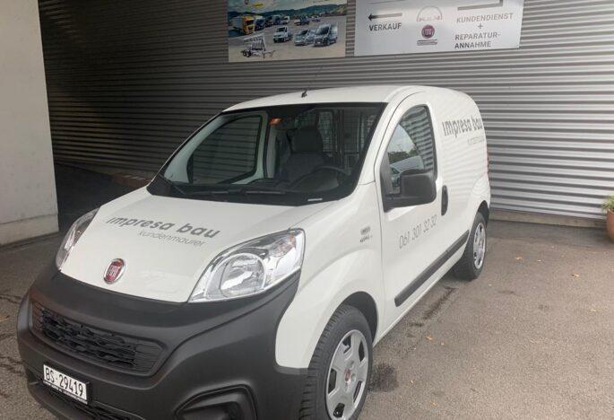 Ablieferung Fiat Fiorino