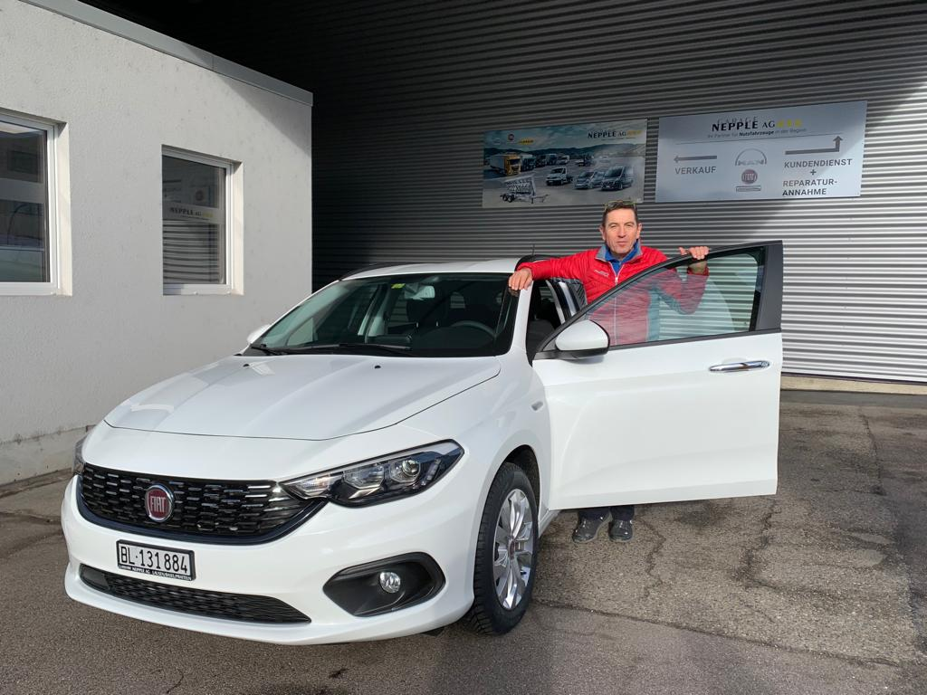 Ablieferung Fiat Tipo