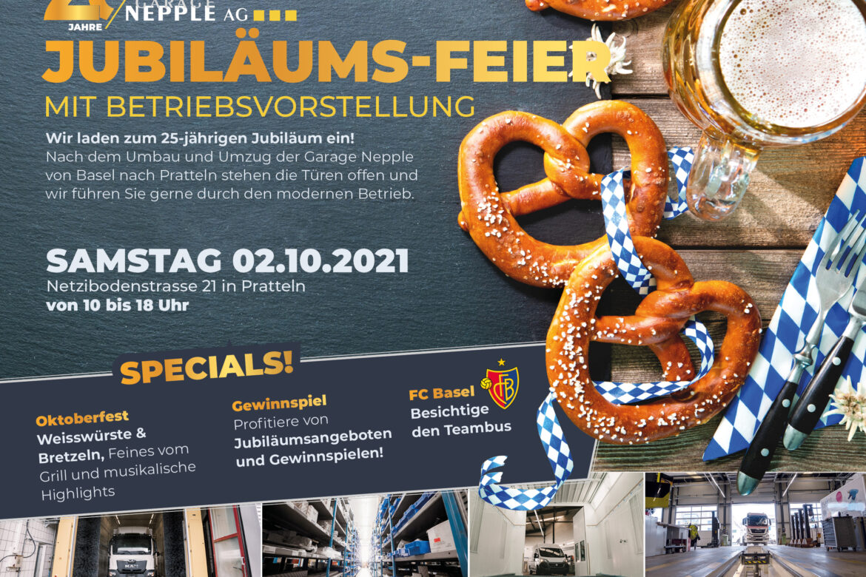 Jubiläums-Feier 2021