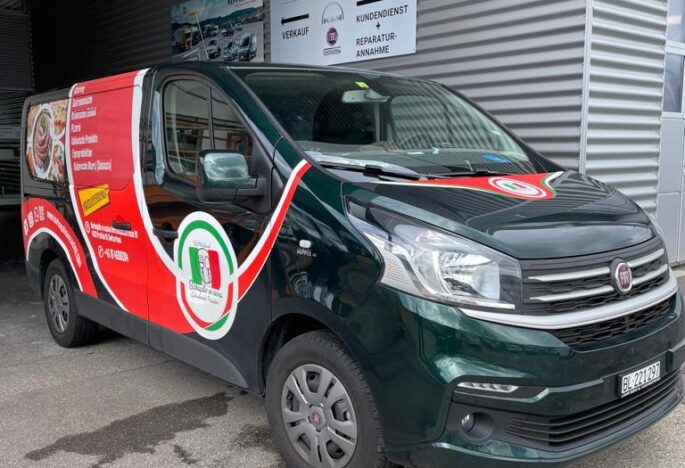 Ablieferung Fiat Talento Kombi Swiss