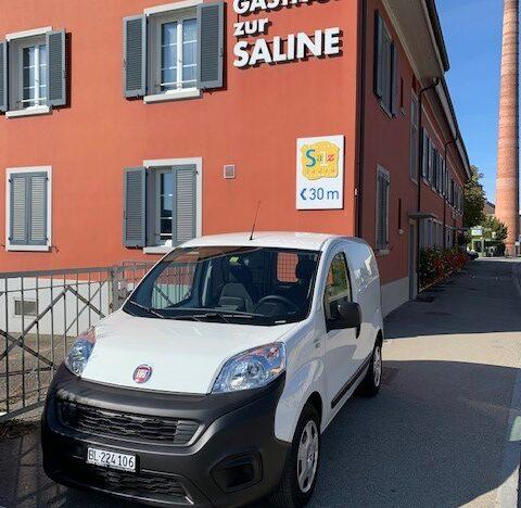 Ablieferung Fiat Fiorino 1.3 MJ